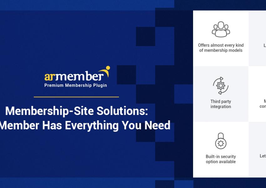 membership site solutions